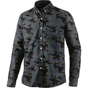 LTB Langarmhemd Herren schwarz
