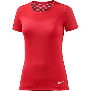 Nike Pro Funktionsshirt Damen rot