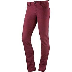 Volcom Chili Chocker Color Slim Fit Jeans Herren bordeaux/denim
