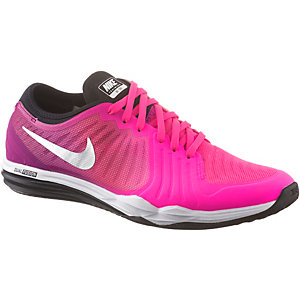 Nike Dual Fusion Trainer 4 Print Fitnessschuhe Damen pink/lila