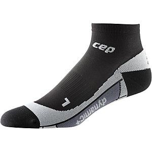 CEP Low Cut Socks Laufsocken Herren schwarz/grau