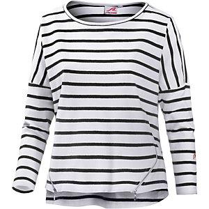 Maui Wowie Sweatshirt Damen weiß/schwarz