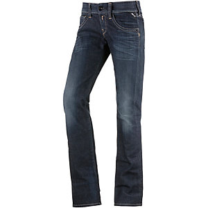 REPLAY New Swenfani Straight Fit Jeans Damen dark denim