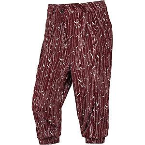 Khujo Bury Shorts Damen dunkelrot/weiß