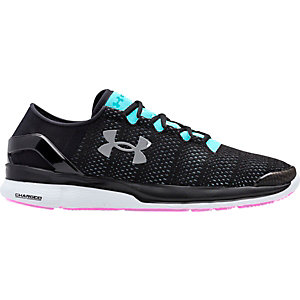 Under Armour Speedform Conquer Laufschuhe Damen schwarz/blau