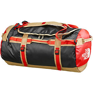 The North Face Base Camp Duffel Reisetasche rot/schwarz