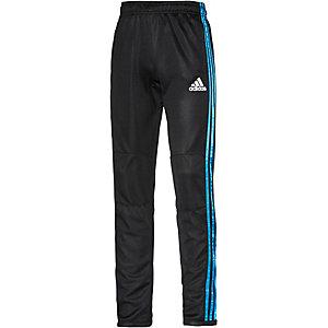 adidas Trainingshose Jungen schwarz/blau