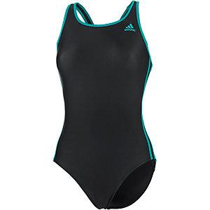 adidas schwimmanzug damen schwarz petrol im online shop. Black Bedroom Furniture Sets. Home Design Ideas