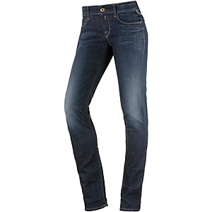 REPLAY Rose Skinny Fit Jeans Damen blue denim
