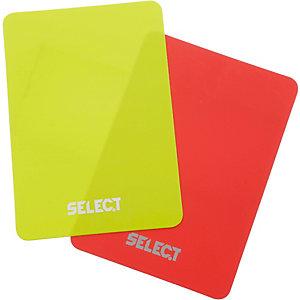 Derbystar Karte rot/gelb