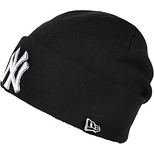 New Era Lic over Cuff NY Beanie blau