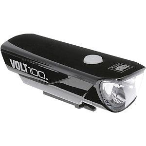 Cateye Helmbeleuchtung HL-EL 150RC VOLT 100 Helmlampe schwarz