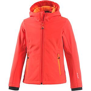 CMP Softshelljacke Mädchen rot/orange