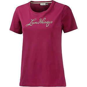 Lundhags Printshirt Damen dunkelrot