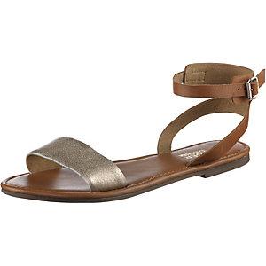 tommy hilfiger sandalen damen braun gold im online shop. Black Bedroom Furniture Sets. Home Design Ideas