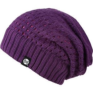 BUFF Knitted Neckwarmer Hat Loop pflaume
