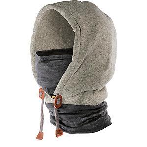 BUFF Thermal Hoodie Sturmhaube hellgrau