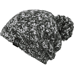 BUFF Knitted & Polar Hat Bommelmütze grau