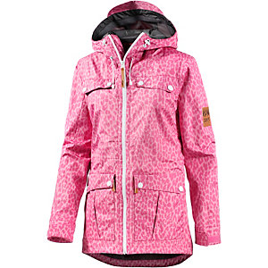Colour Wear Eagle Funktionsjacke Damen rosa/leo