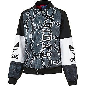 adidas Blouson Damen schwarz/weiß/grau