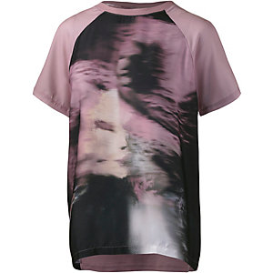 Rich & Royal T-Shirt Damen altrosa