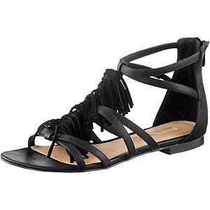 Buffalo Sandalen Damen schwarz