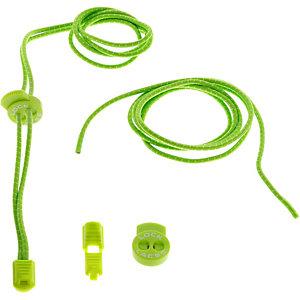 NATHAN Lock Laces Schuhbänder grün