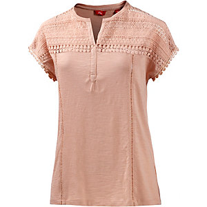S.OLIVER T-Shirt Damen rose