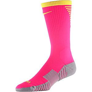 Nike Stadium Crew Stutzen pink/gelb