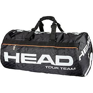 HEAD Tour Team Sportsbag Sporttasche schwarz/weiß