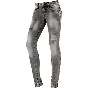 Fornarina Pin Up Skinny Fit Jeans Damen destroyed denim