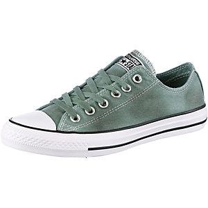 CONVERSE Black Wash Sneaker Damen grün