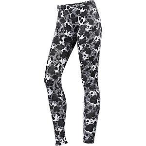 CONVERSE Leggings Damen schwarz/weiß