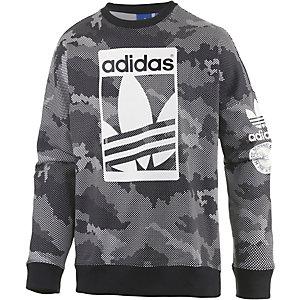 adidas Sweatshirt Herren schwarz/grau
