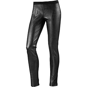 CONVERSE Leggings Damen schwarz