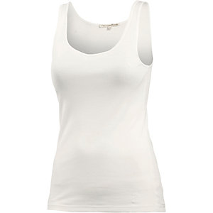 TOM TAILOR Tanktop Damen weiß