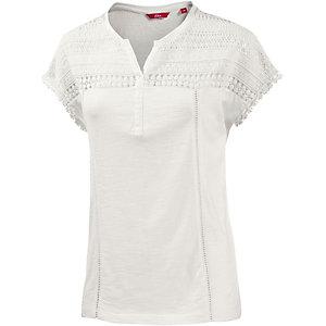 S.OLIVER T-Shirt Damen creme