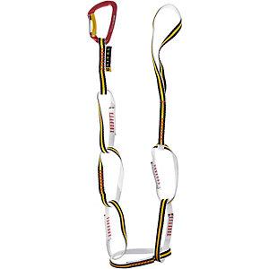 Grivel Chain Twin 125cm Bandschlinge schwarz/gelb