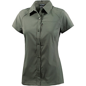 Columbia Silver Ridge Funktionsbluse Damen oliv