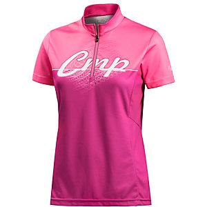 CMP Fahrradtrikot Damen pink/weiß