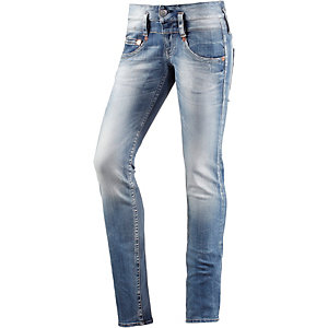 Herrlicher Pitch Skinny Fit Jeans Damen dark denim