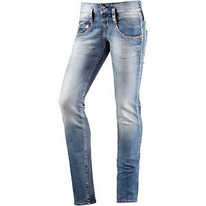 Herrlicher Pitch Skinny Fit Jeans Damen dark denim