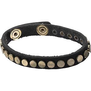 REPLAY Armband Damen schwarz/goldfarben