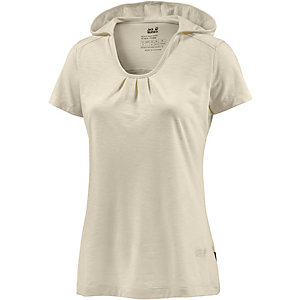 Jack Wolfskin Travel Funktionsshirt Damen sand