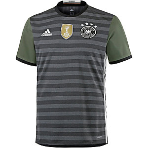 adidas DFB EM 2016 Authentic Auswärts Fußballtrikot Herren grau