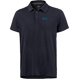 Jack Wolfskin Travel Poloshirt Herren dunkelblau