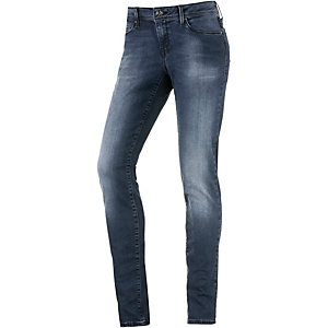 Mavi Adriana Skinny Fit Jeans Damen dark denim