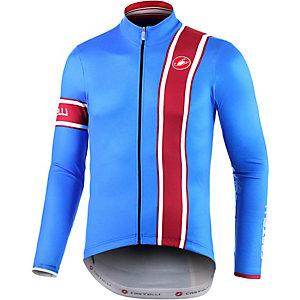 castelli Storica Fahrradjacke Herren blau/rot