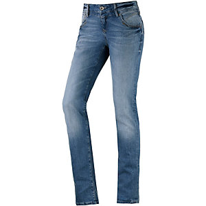 Mavi Olivia Straight Fit Jeans Damen light denim