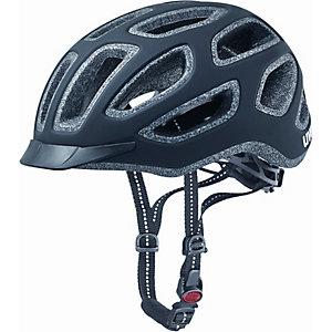 Uvex City E Fahrradhelm black mat